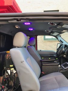Ambulance Cab Disinfection